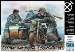 1-35-German-motorcyclists-WWII-era