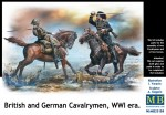1-35-British-and-German-Cavalrymen-WWI-era-4-fig-