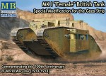 1-72-Mk-I-Femal-British-tank-Special-modification-for-the-Gaza-Strip