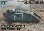 1-72-Mk-II-Male-British-tank-Arras-Battle-period-1917