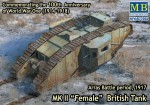 1-72-Mk-II-Female-British-tank-Arras-Battle-period-1917