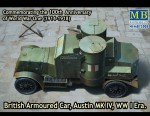 1-72-Austin-Mk-IV-British-armored-car-1914-1918