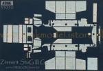 RARE-1-35-Zimmerit-StuG-III-G-Wzor-MIAG-POSLEDNI-KUS