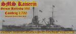 1-700-German-Kaizerin-Battleship-1913-NEW
