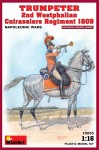 1-16-TRUMPETER-2nd-Westphalian-Cuirassiers-Regiment-1809-Napoleonic-wars
