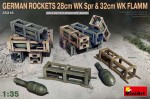 1-35-German-Rockets-28cm-WK-Spr-and-32cm-WK-Flamm