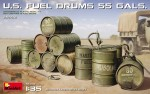 1-35-U-S-Fuel-Drums-55-Gals-12-pcs-