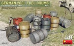1-35-German-200L-Fuel-Drum-Set-WWII-12-pcs-