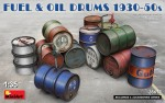 1-35-Fuel-and-Oil-Drums-1930-50s-incl-decals