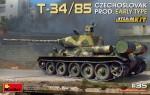 1-35-T-34-85-Czechoslovak-Prod-Early-w-Inter-Kit