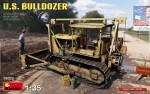 1-35-U-S-Bulldozer-and-cans-incl-PE-set-and-decals