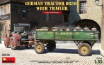 1-35-German-Tractor-D8506-with-Trailer-2x-camo