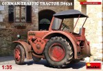 1-35-German-Traffic-Tractor-D8532-incl-PE-and-decal