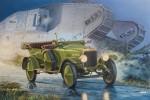 1-72-Vauxhall-D-type-British-staff-car-WWI