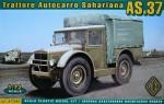 1-72-Trattore-Autocarro-Sahariano-AS-37