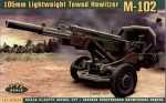 RARE-1-72-M-102-US-105mm-light-towed-howitzer