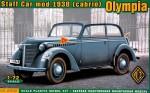 1-72-Olympia-cabrio-staff-car-model-1938