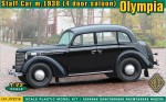 1-72-Olympia-4-door-saloon-staff-car-model-1938