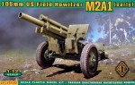1-72-105mm-US-Field-Howitzer-M2A1-early