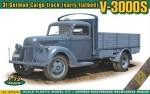 1-72-V-3000S-3t-German-cargo-truck-early-flatbed