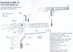 RARE-1-72-Parabellum-MG-14-detail-set-for-2-guns