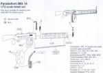 RARE-1-72-Parabellum-MG-14-detail-set-for-2-guns