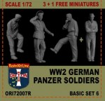 1-72-German-Panzer-Soldiers-basic-set-7-resin