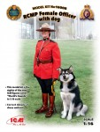 1-16-RCMP-Female-Office-with-dog-1-fig-+-dog