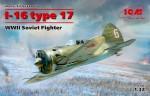 1-32-I-16-type-17-Soviet-WWII-Fighter-4x-camo