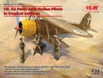 1-32-Fiat-CR-42-Falco-w-Italian-Pilots-trop-unif-