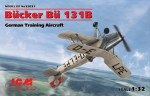 1-32-Bucker-Bu-131B-German-Training-Aircraft