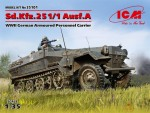 1-35-Sd-Kfz-251-1-Ausf-A-WWII-German-Armoured-Personnel-Carrier