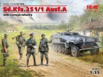 1-35-Sd-Kfz-251-1-Ausf-A-with-German-Infantry