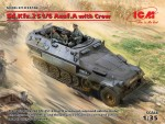 1-35-Sd-Kfz-251-6-Ausf-A-with-Crew-4-fig-