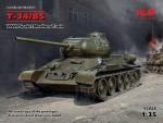 1-35-T-34-85-Soviet-Medium-Tank-WWII-6x-camo