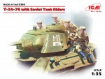 1-35-T-34-76-with-Soviet-Tank-Riders-4-fig-