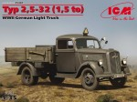 1-35-Typ-25-32-15-to-WWII-German-light-truck