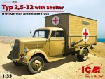 1-35-Typ-25-32-with-Shelter-German-WWII-Ambulance