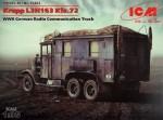 1-35-Krupp-L3H163-Kfz-72-WWII-German-radio-truck