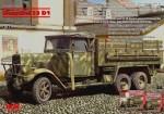 1-35-Henschel-33-D1-WWII-German-Army-Truck