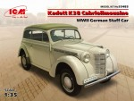 1-35-Kadett-K38-Cabriolimousine-WWII-German-Staff-Car