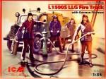 1-35-L1500S-LLG-Fire-Truck-with-German-Firemen