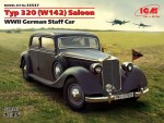 1-35-Typ-320-W142-Saloon-WWII-German-Staff-Car