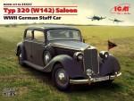 1-35-Typ-320-W142-Saloon-WWII-German-Staff-Car