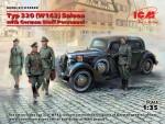 1-35-Typ-320-W142-Saloon-w-German-Staff-Person-
