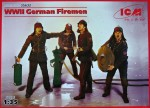 1-35-WWII-German-Firemen-4-figures