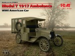 1-35-Model-T-1917-Ambulance-American-Car-WWI