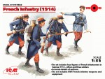 1-35-French-Infantry-1914-4-x-Figures