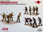 1-35-WWI-Eastern-Front-Austro-Hungarian-German-Russian-Infantries