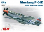 1-48-Mustang-P-51C-WWII-American-fighter